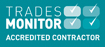 Trades Monitor Accreditted Contractor logo